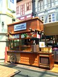 Malay food stall - Chinatown, Singapore Stock Image