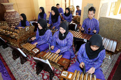 Malay Gamelan Royalty Free Stock Photo