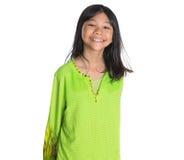 Malay Girl In Traditional Dress III Stock Photo