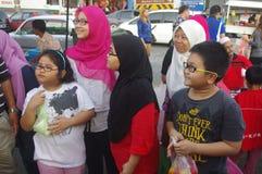 Malay market Royalty Free Stock Photo
