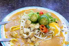 Malay Mee Rebus Dish Closeup Royalty Free Stock Photography