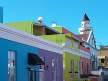 Malay Quarters or Bo-Kaap Stock Photography