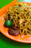 Malay style fried noodles Stock Photos