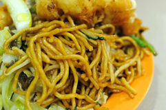 Malay style fried noodles Royalty Free Stock Photography