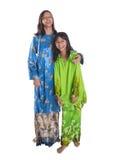 Malay Teenage Sisters I Stock Photo