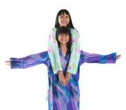 Malay Teenage Sisters III Royalty Free Stock Images