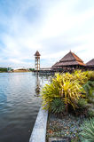 Malay traditional building on stilts Stock Photography