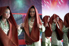 Malay traditional dance Royalty Free Stock Images
