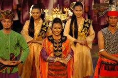 Malay Traditional Dance Royalty Free Stock Photo