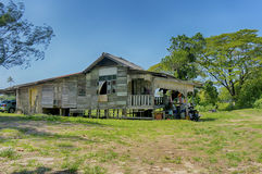 Malay traditional house Stock Images