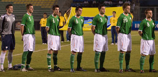 malay u för fotboll för 23 mästerskap intercontinental Royaltyfri Fotografi