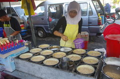 Malay vegetable market Stock Photos