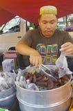 Malay vegetable market Royalty Free Stock Photos