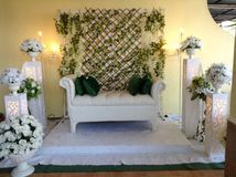 malay wedding dais Royalty Free Stock Image