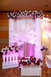 A Malay Wedding Decor Royalty Free Stock Image
