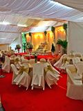 Malay wedding decor in Singapore Stock Photography