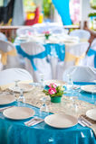 Malay Wedding Table Arrangement Royalty Free Stock Photography