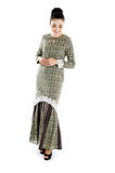 Malay woman in traditional dress Stock Photography