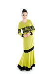 Malay woman in traditional dress Stock Images