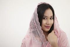 Malay woman Stock Photo