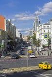 Malaya Dmitrovka Street, Mosca immagini stock libere da diritti
