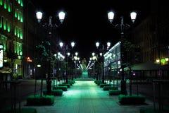 Malaya Konushennaya Street St Petersburg Fotos de Stock Royalty Free