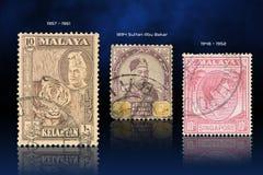 Malaya-Stempel Lizenzfreie Stockfotografie