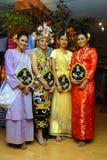 Malays etnici Fotografia Stock Libera da Diritti