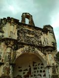 MalaysA famosa den portugisiska porten Arkivbild