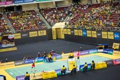 Malaysia öppet Badmintonmästerskap 2013 Arkivbild