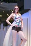 MALAYSIA - 2 MAY 2011: Andrewsmodels runway Royalty Free Stock Photos