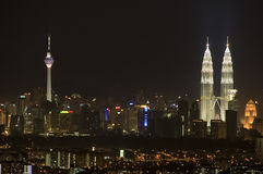 Malaysia. Kuala Lumpur is the capital and the largest city of Malaysia Stock Image