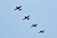 Malaysia Aerobatic Team, Krisakti. Royalty Free Stock Photography