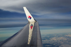 Malaysia Airlines Foto de Stock Royalty Free