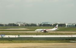 Malaysia Airlines at Ho Chi Minh airport Royalty Free Stock Photography