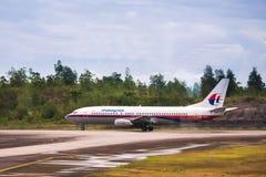 Malaysia Airlines a Kuala Lumpur Airport. Immagine Stock Libera da Diritti