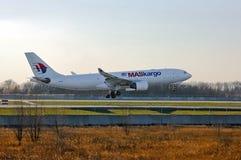 Malaysia Airlines (Maskargo) Aerobus A330 Obrazy Royalty Free