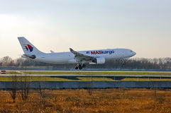 Malaysia Airlines (Maskargo) Airbus A330 Lizenzfreie Stockbilder