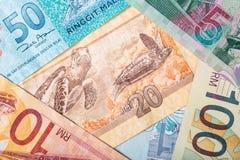 Malaysia banknotes Royalty Free Stock Photo