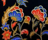 Malaysia Batikmodell V Royaltyfria Bilder