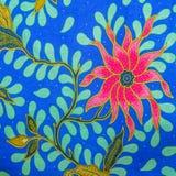 Malaysia Batikmodell XIV Arkivbilder