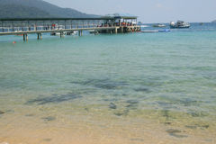 Malaysia beach in Tioman Royalty Free Stock Photography
