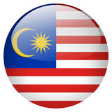 Malaysia Button Royalty Free Stock Photography