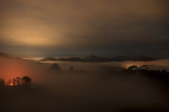 malaysia Cameron Highlands durch die Glättung Stockfotografie