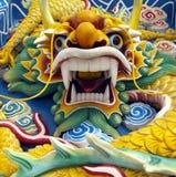 Malaysia - Chinese Dragon - Kuala Lumpur. Chinese dragon sculpture at a Chinese Temple in Kuala Lumpur in Malaysia royalty free stock image