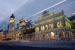 Malaysia city night Stock Images