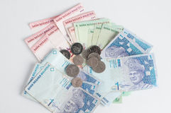 Malaysia Currency Stock Photo