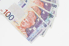 Malaysia Currency in white background Royalty Free Stock Image