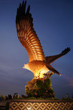 Malaysia, das Symbol von Langkawi - Adler Lizenzfreie Stockfotografie