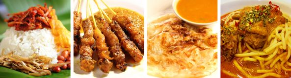 Malaysia delicious food Stock Images